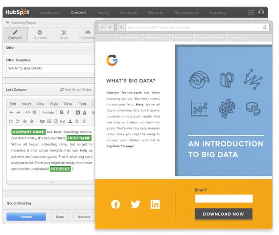 hubspot-landing-pages
