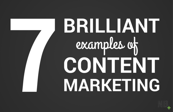 7 examples of content marketing