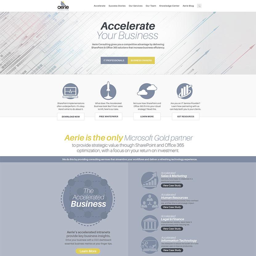 Aerie Homepage