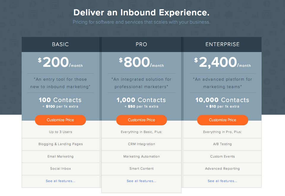 hubspot-pricing-page