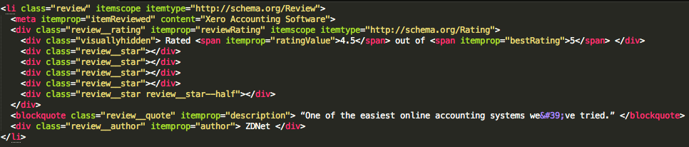 Review code snippet