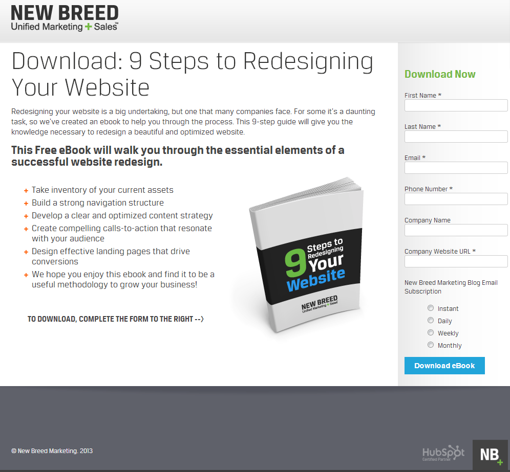 New_Breed_Marketing_conversion_page