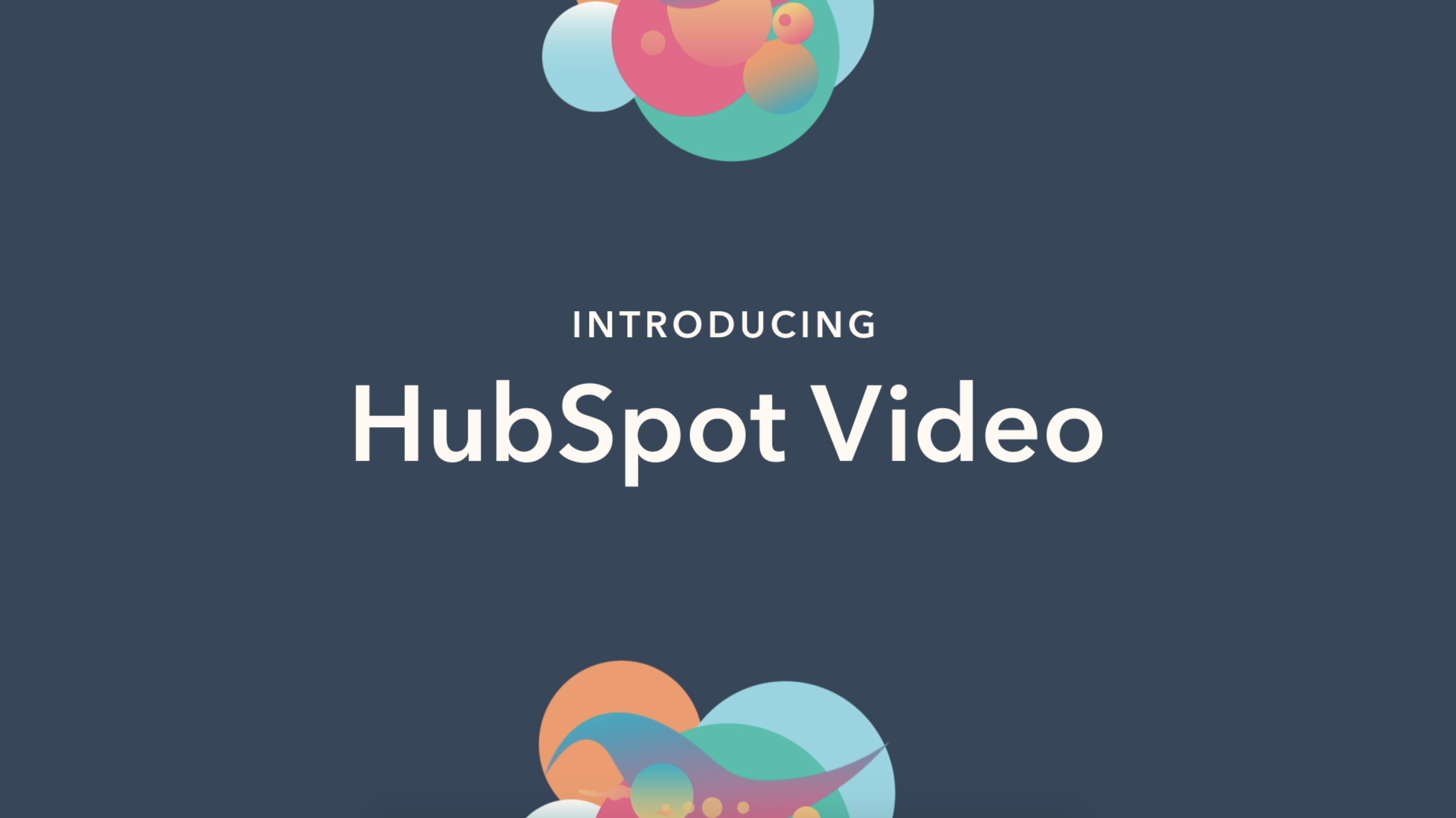 An introduction to hubspot video