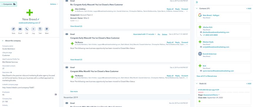 HubSpot Custom Objects-Company Focus-V2