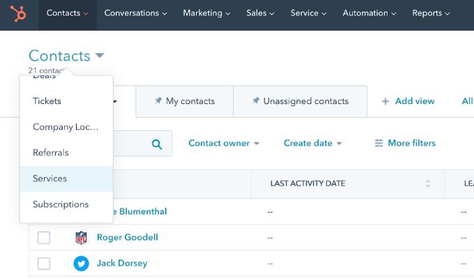 HubSpot Custom Objects-Listing