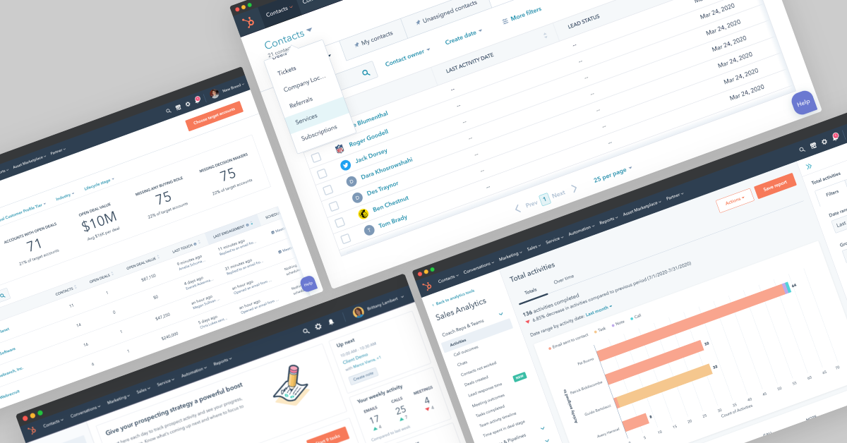HubSpot Sales Hub Screenshots