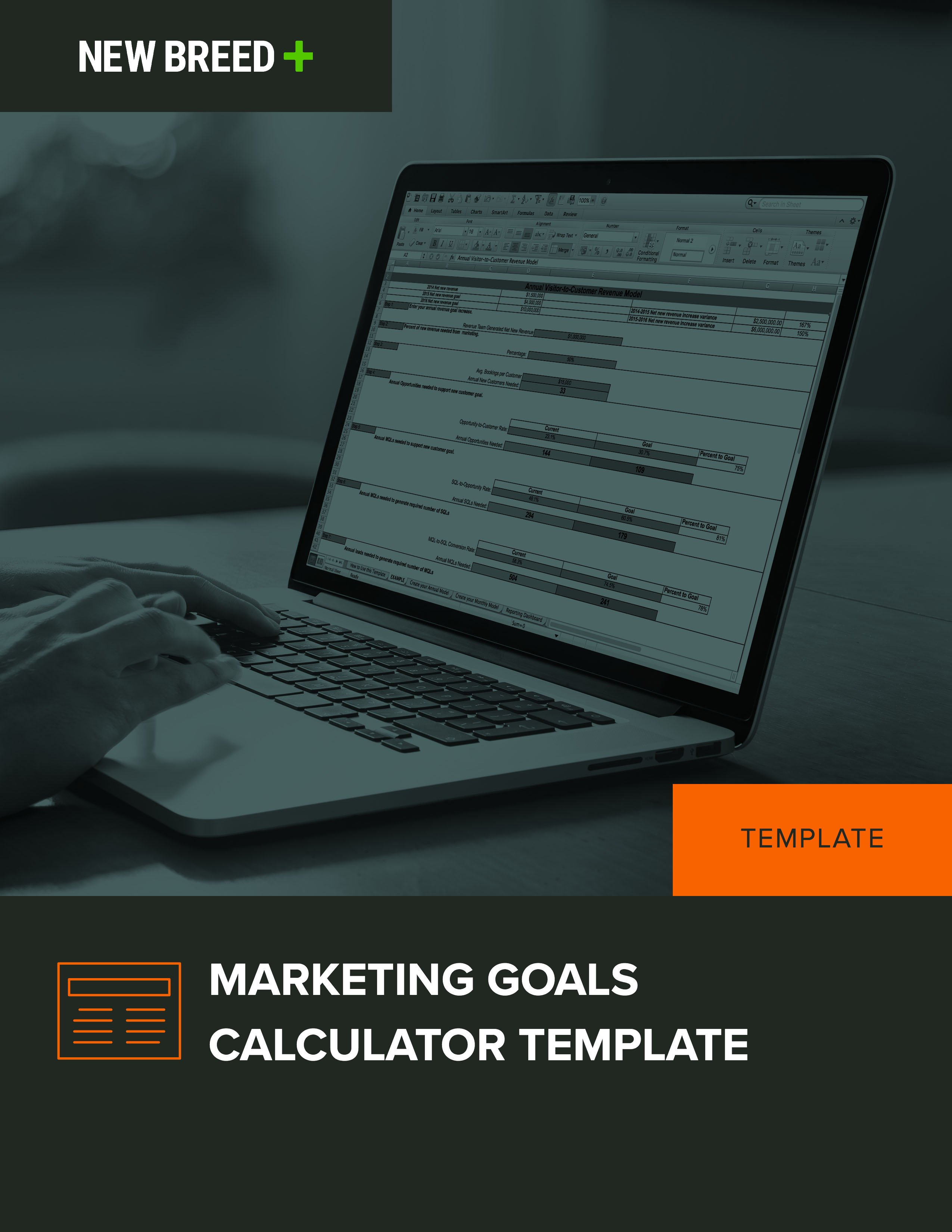 Marketing Goals Calculator Template