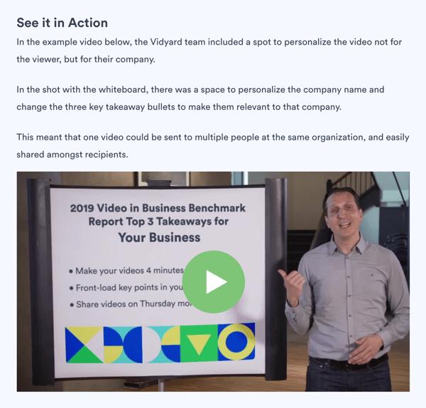 SaaS Content Marketing-Vidyard