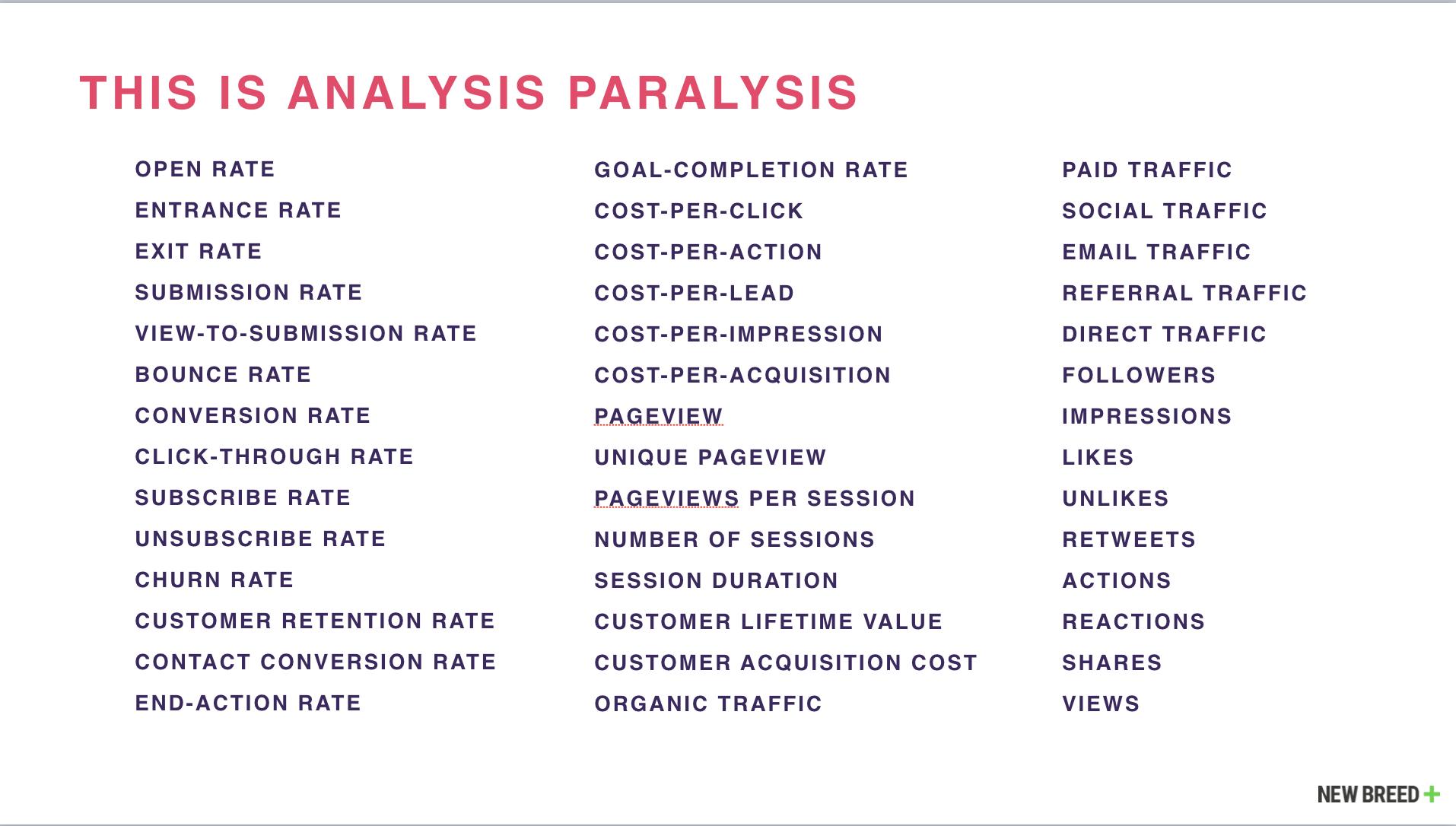 avoiding analysis paralysis how to leverage data-driven decision making