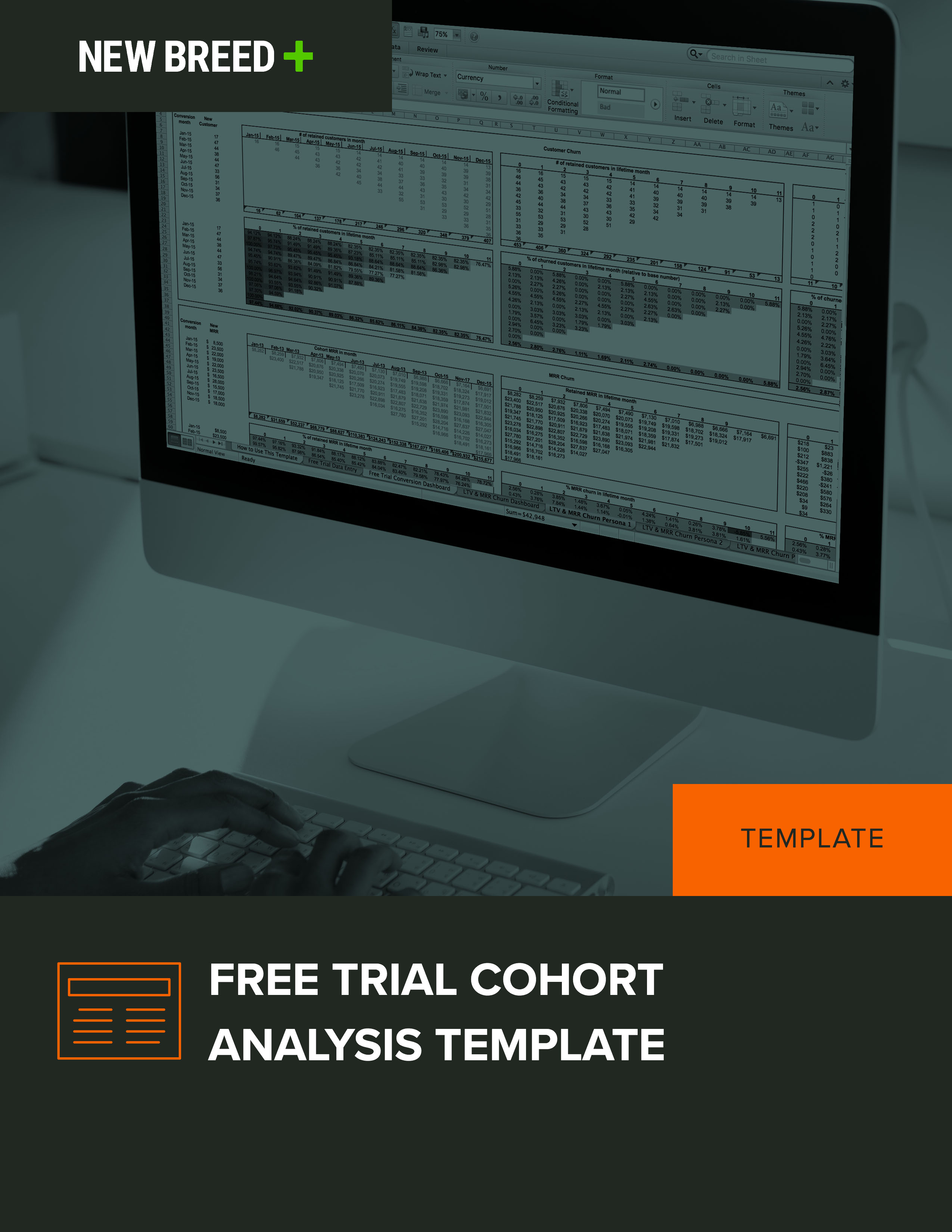 free trial cohort analysis template
