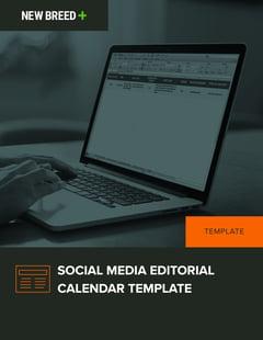 Social Media Editorial Calendar Template - Social media editorial calendar template
