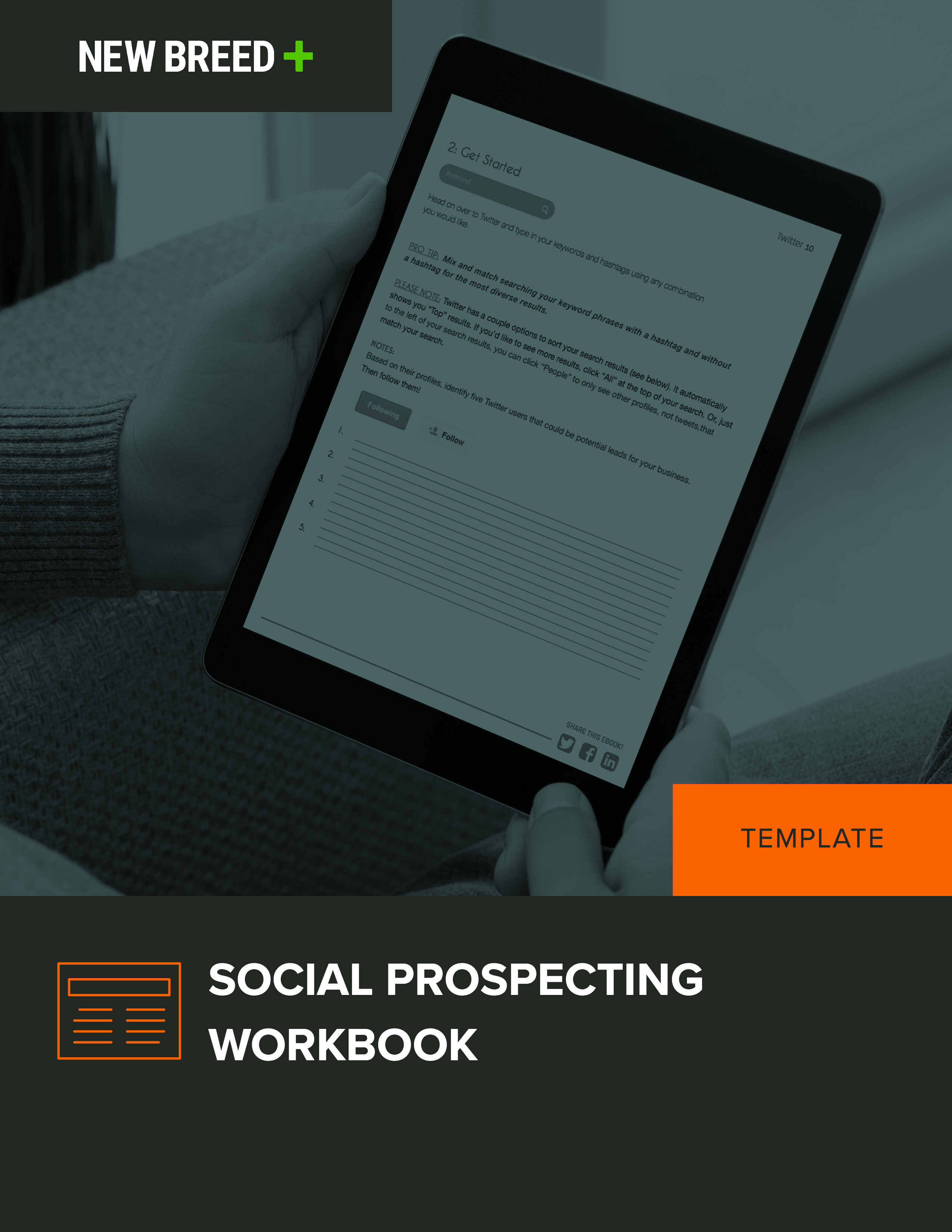 social prospecting workbook