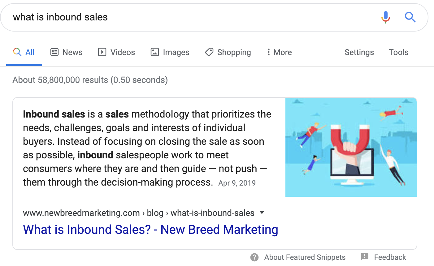 what is inbound sales