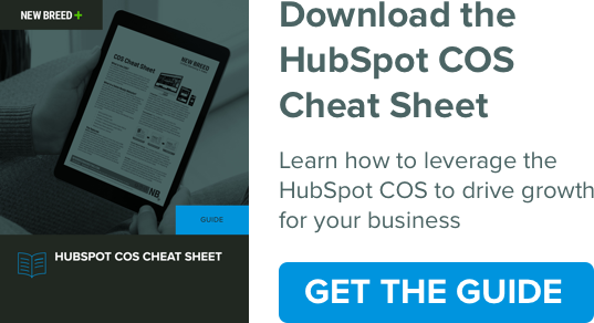 HubSpot COS Cheat Sheet