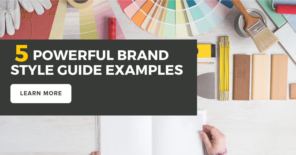 5 Powerful Brand Style Guide Examples