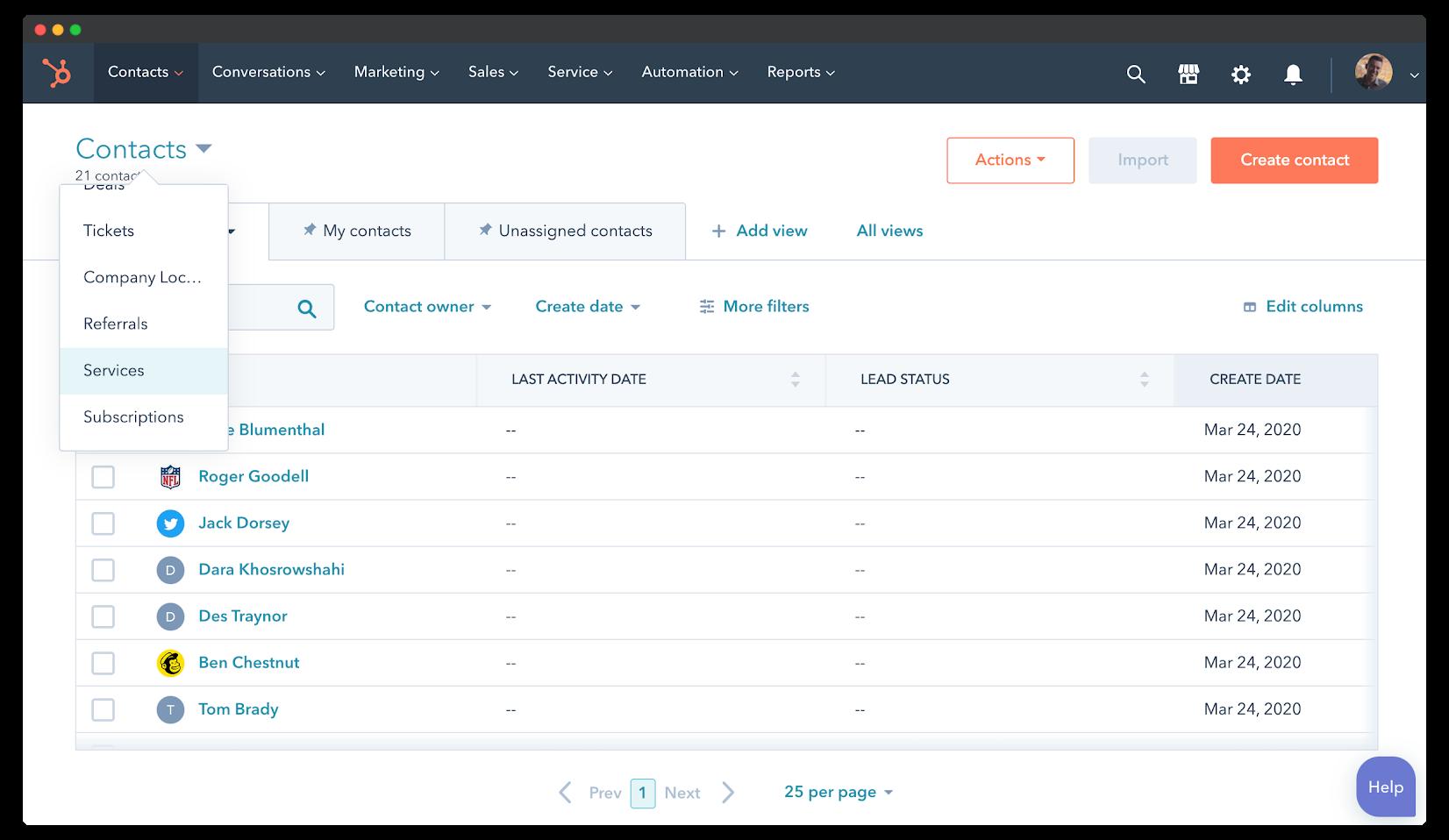 HubSpot Sales Hub Custom Objects