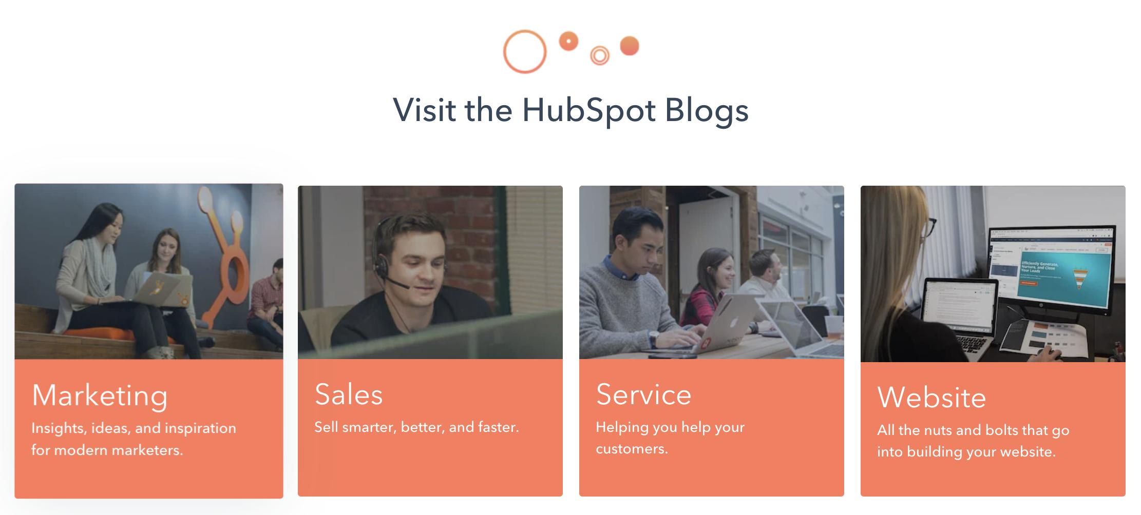 SaaS Content Marketing-HubSpot