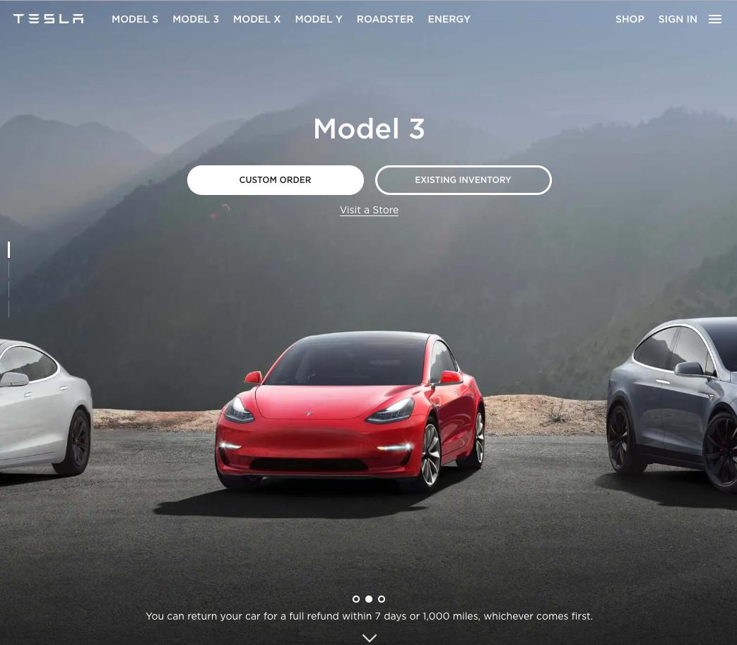Tesla's_website_example
