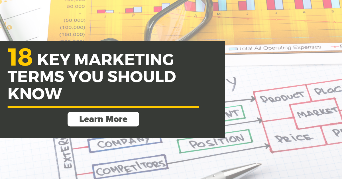 18 key marketing terms you should know in 2019