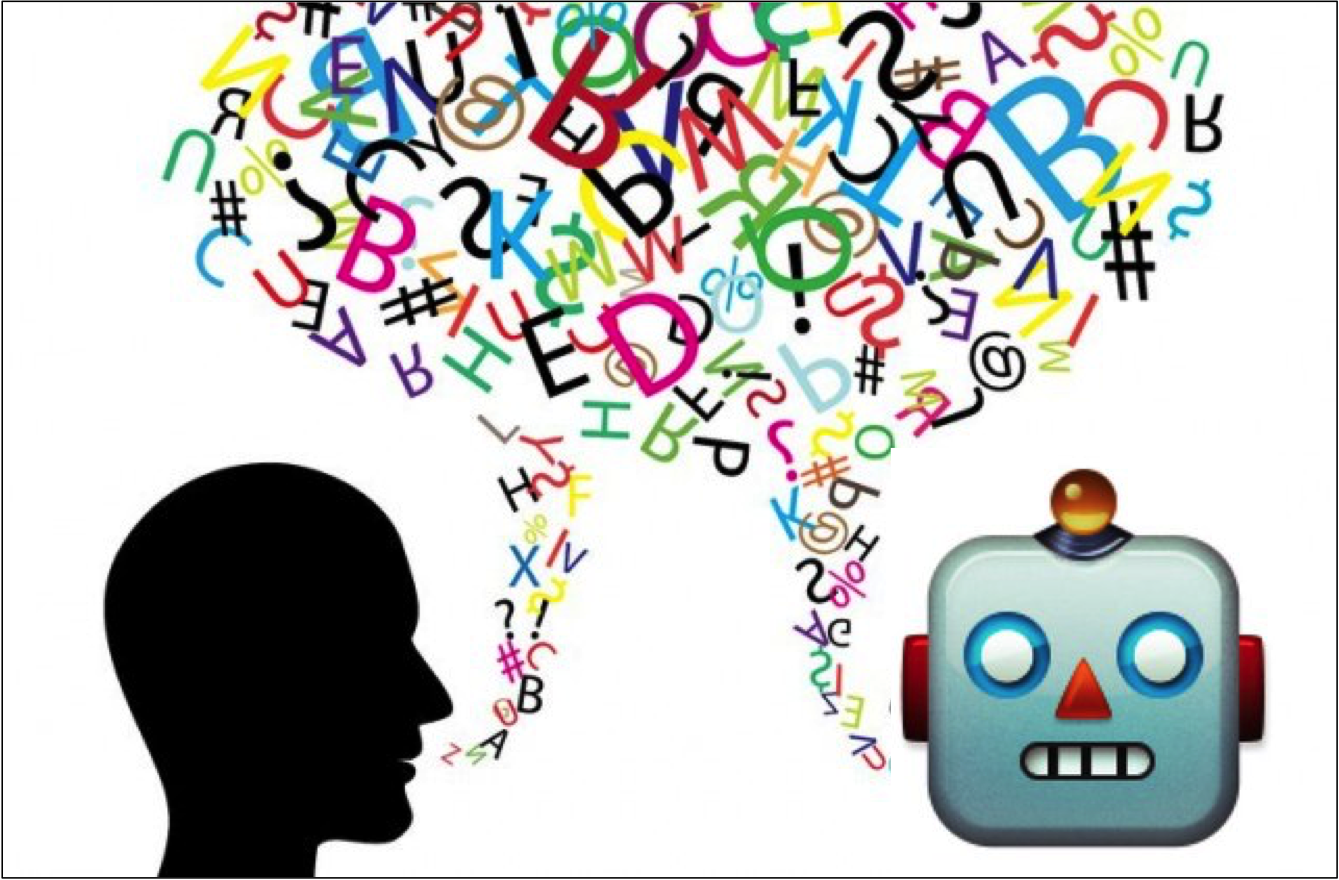 Person and robot conversational marketing