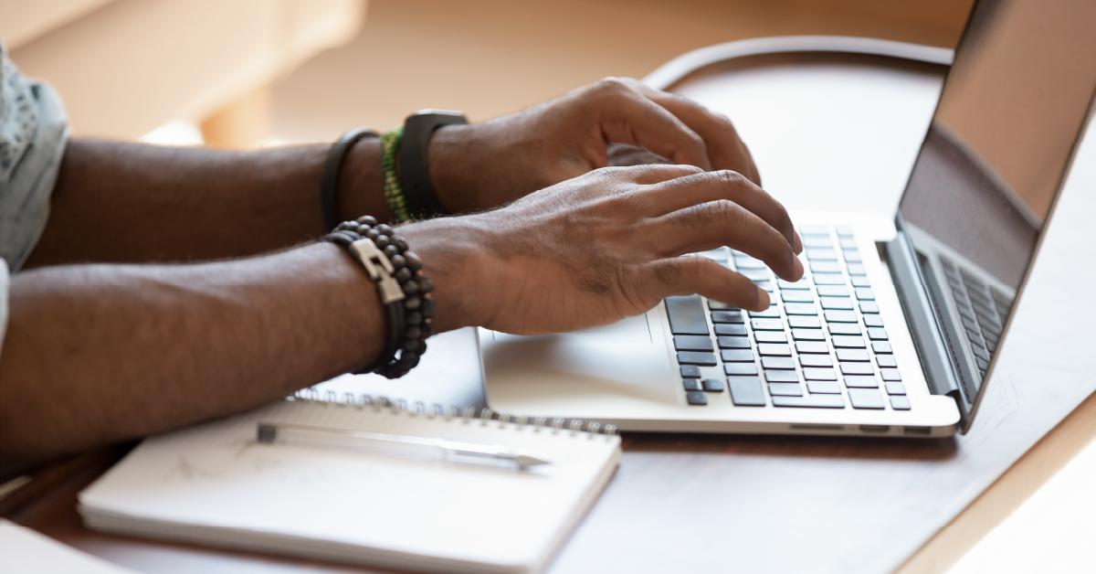 typing-at-computer