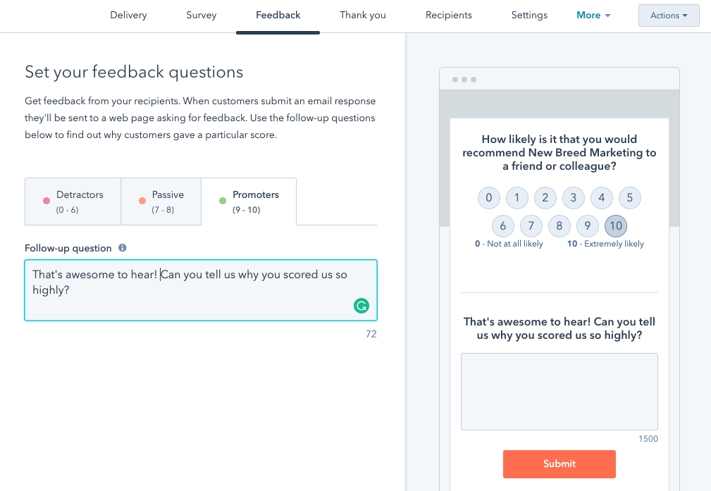 customize_feedback_menu_on_hubspot